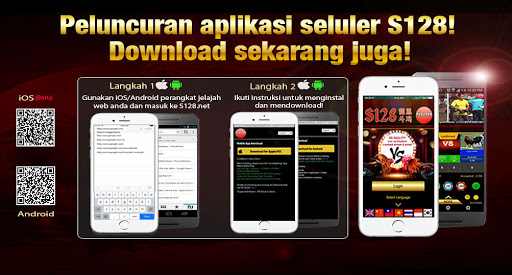 DOWNLOAD S128 - APLIKASI S128 APK - S128 ANDROID DAN S128 IOS ASIA